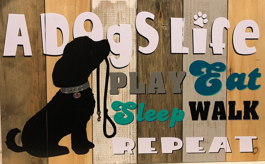 A Dogs Life Sign