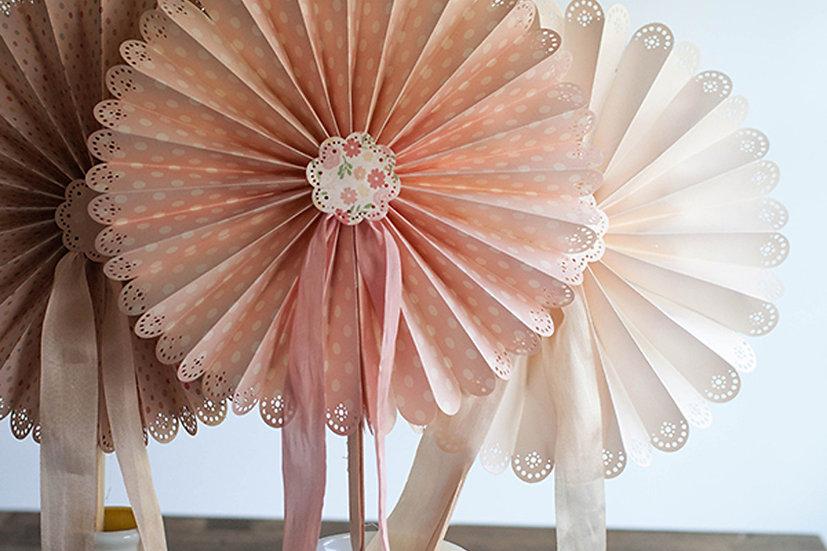 Large Paper Fans