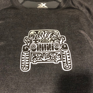 Stylized Jeep T-Shirt