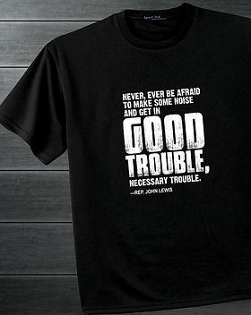 John Lewis Quote Black Tshirt.jpg