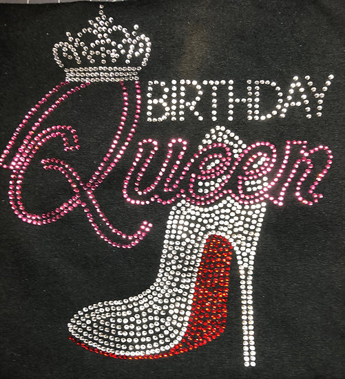 Blingy Birthday Queen