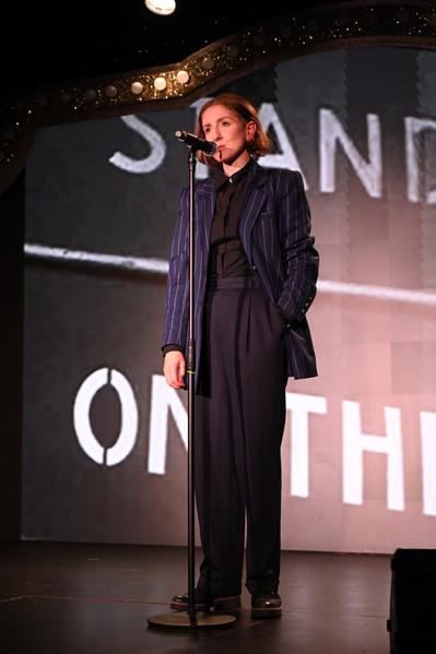 Madeleine McMahon as Dorothy Thompson