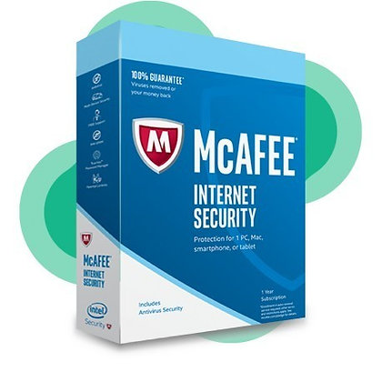 McAfee Internet Security 1 Device 5 Years PC Key GLOBAL