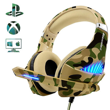 Beexcellent Gaming Headset for PS4 Xbox One, Gaming Headphones with Mic