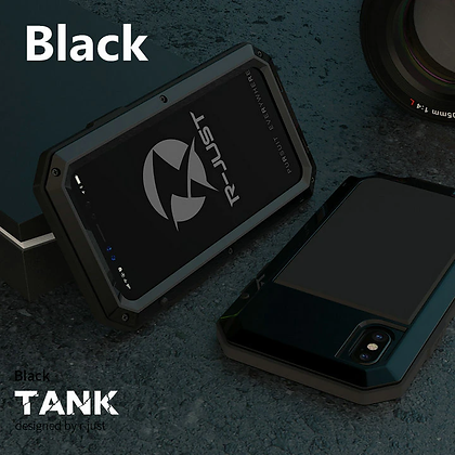 Armor Metal Aluminum Phone Case for iPhone Devices Shockproof Cover