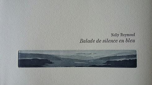 Balade de silence en bleu