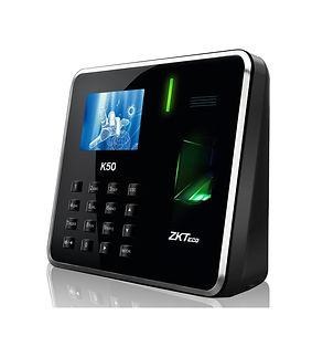 Control de acceso biometrico-zkteco-k50