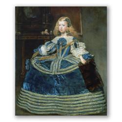 La infanta Margarita-Copia obras arte diego velazquez