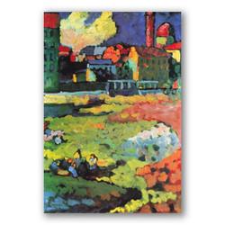 Munich Santa Ursula-Copia obras arte famosas wassily kandinsky