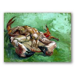 Un cangrejo de espaldas-Copia obras arte famosas vincent van gogh