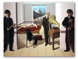 El asesino amenazado-Copia obras de arte famosas rene magritte