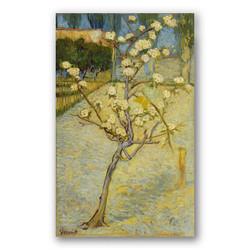 Pequeño peral en flor-Copia obras arte famosas vincent van gogh