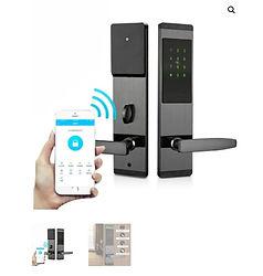 Cerraduras de seguridad inteligentes huella,codigo,tarjeta,app,blueetoth casas y oficinas inteligentes domotica medellin
