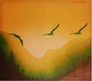 Fernando Montoya Romanowsky - Gaviotas - Obras de Arte