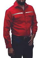 dotaciones empresariales camisa drill roja reflectiva medellin.jpg