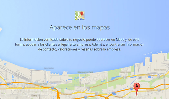 Anuncio directorio de google my business