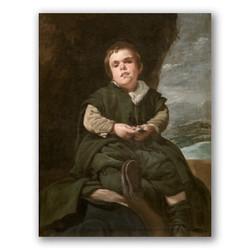 Francisco lezcano el niño de Vallecas-Copia obras arte diego velazquez