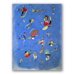 Cielo azul-Copia obras arte famosas wassily kandinsky
