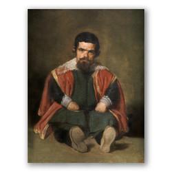 El bufon don Sebastian de Morra-Copia obras arte diego velazquez