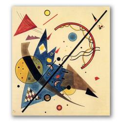 Arco y punta-Copia obras arte famosas wassily kandinsky
