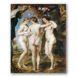 Las tres gracias-Copia obras arte pedro pablo rubens