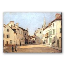 Rue chaussee-Copia obras arte famosas alfred sisley