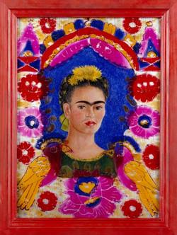 The frame-Copia obras arte famosas frida kahlo