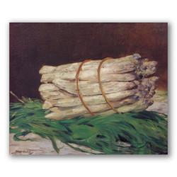 Manojo de esparagos-Copia obras de arte famosas edouard manet