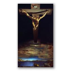 Cristo de San Juan de la Cruz-Copia obras arte famosas salvador dali