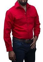 dotaciones empresariales camisa drill roja medellin.jpg
