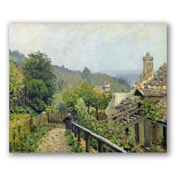 Louveciennes-Copia obras arte famosas alfred sisley