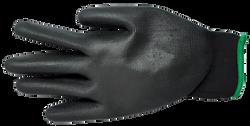 Guantes poliuretano poliester negro-Elem
