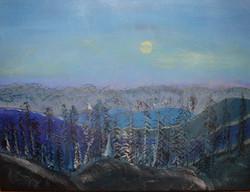Mountain view - Venta de pinturas de obras de arte