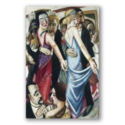 Salon de baile en Gaden Gaden-Copia obras arte max beckmann