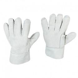 Guante Carnaza Reforzado-Elementos de seguridad industrial epp elementos protección personal guantes