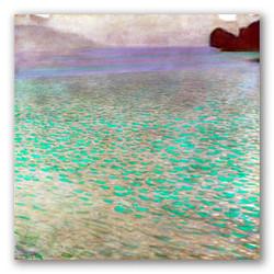 El lago attersee-Copia obras arte gustav klimt