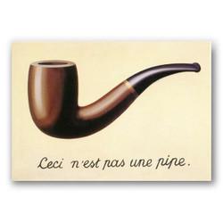 La traicion de las imagenes-Copia obras de arte famosas rene magritte