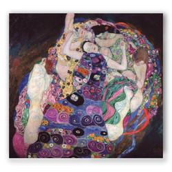 La virgen-Copia obras arte gustav klimt