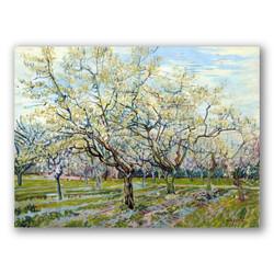 El huerto blanco-Copia obras arte famosas vincent van gogh