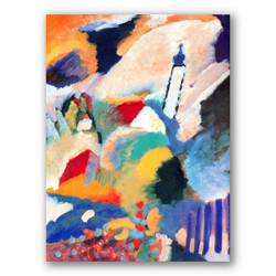 Murnau-Copia obras arte famosas wassily kandinsky