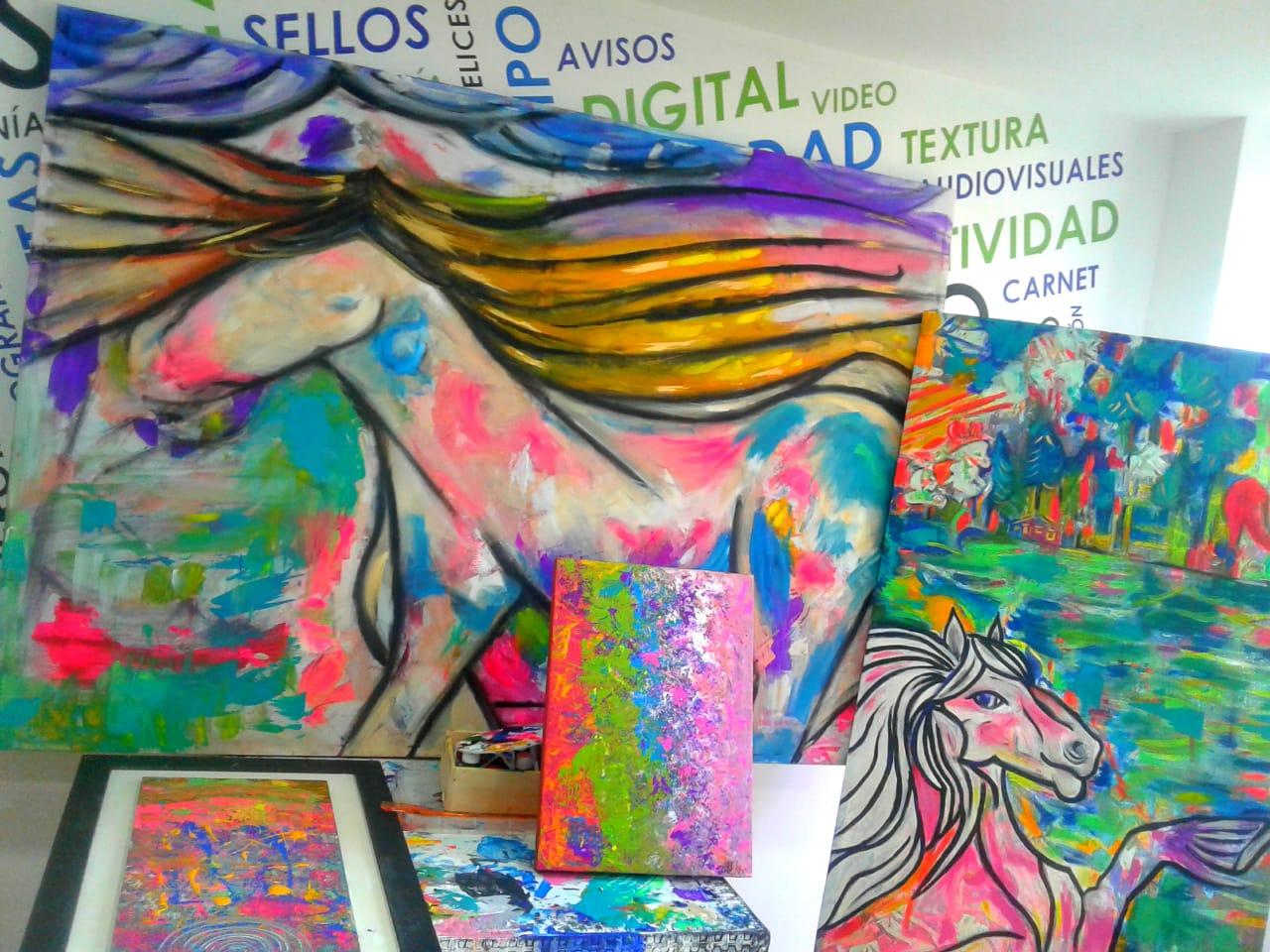 Talleres de obras de arte en medellin 2.