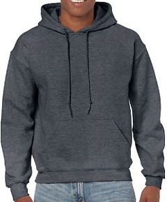 Buso perchado capucha gris jasped oscuro