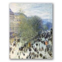 Boulevard des Capucines-Copia obras arte claude monet
