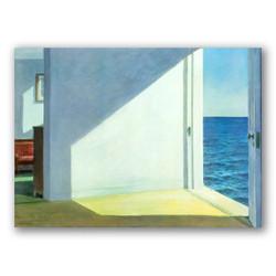 Habitaciones junto al mar-Copia obras arte edward hopper