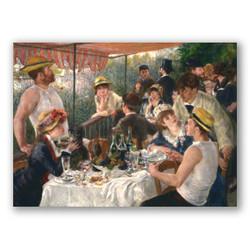 Almuerzo de los remeros-Copia de obras de arte famosas pierre auguste renoir