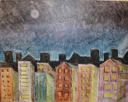 Midnight - Venta de pinturas de obras de arte