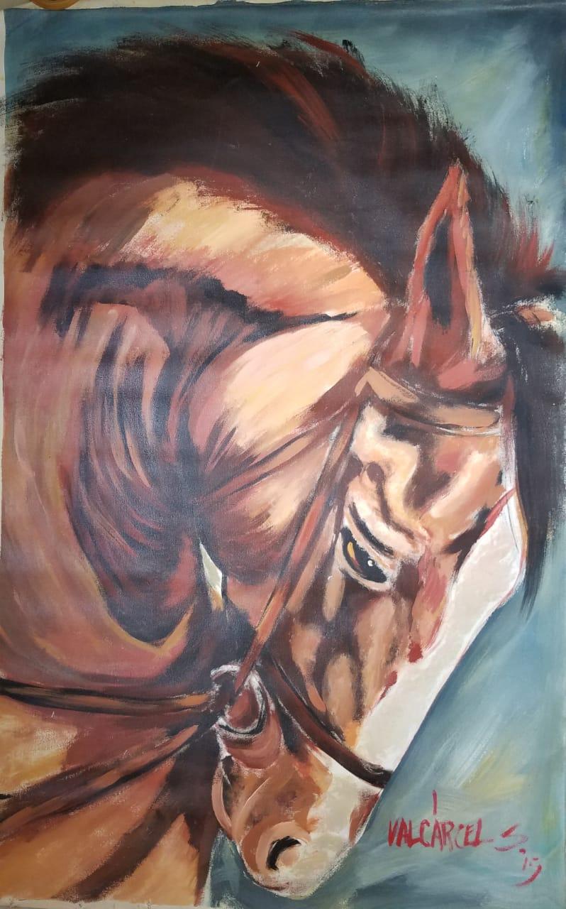 Caballo Timonel - Obras de arte