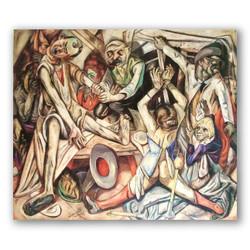 La noche-Copia obras arte max beckmann
