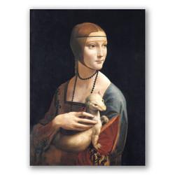 La dama del Armiño-Copia obras arte leonardo da vinci