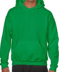 Buso perchado capucha verde irlandes gil